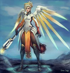 Mercy - Overwatch by FrancisLugfran