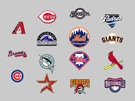 MLB National League Dock Icons by KneeNoh