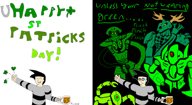 happy St Patricks Day! (late) by robertoadder8