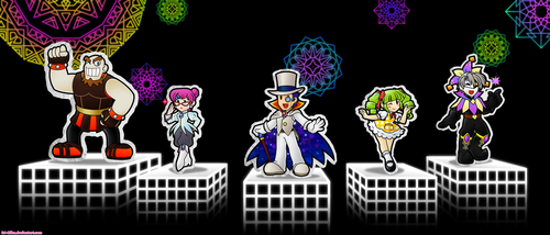 Count Bleck and his Paper Minions by DJ-Mika