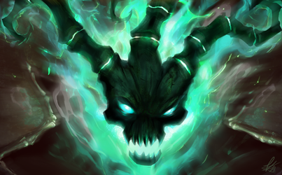 Thresh [LoL] by Snook-8