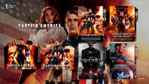 Captain America The First Avenger (2011) Icon by sebasmgsse