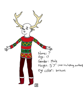 Antler Guy Ref Unfinished by TheTacoShop