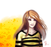 Amy Pond by ScarlettIwater
