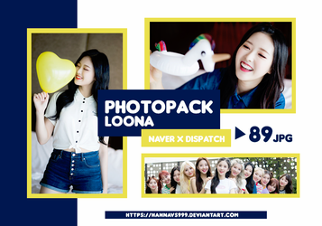 PHOTOPACK LOONA - NAVER x DISPATCH (ALL) // HANNAK by hannavs999