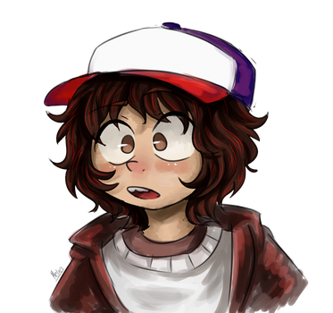 Dustin!_Stranger Things by Meg-chan1391