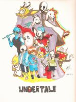 Undertale (all Characters)!!!!!!! by kennaknight6