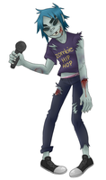 zombie by Tea-cup-kitty