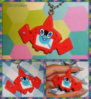Pokemon - RotomDex Necklace - Rotom Pokedex Charm