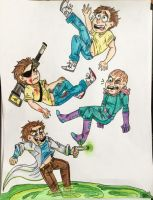 Morty, Morty, Morty and Morty! by ScumKing