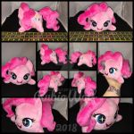 MLP Pinkie Pie Chibi/Roll/Stacking Plushie by RubioWolf