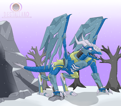 Predacon  Skystalker Alt Mode by destallano4