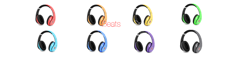 Beats By Dre - Rainbow Edition by FMenes