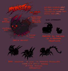 Pacapillars - Species Guide: Monster [outdated] by toripng