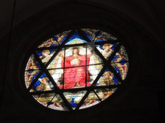 star of david in a church by amitm123