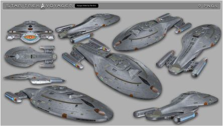 Star Trek Voyager PNGs by inception8-Resource