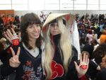Deidara with a pretty girl by Shiradeimune