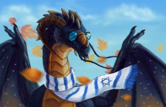 Autumnal wind by Paddy-William