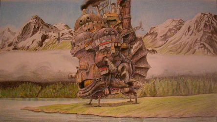 Howl's Moving Castle by Olivier-C