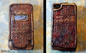 Customised iPhone case by dragonladych
