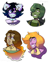 [Fusions] Doodle Batch 1 by Whitewing1122