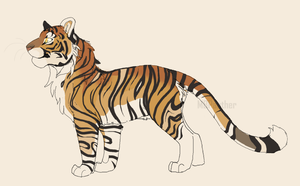 Tiger Design -1 of 4- by MBPanther