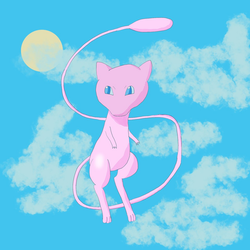 Mew Doodle on Procreate by ShadenkaiLove