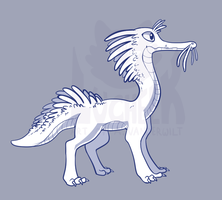 Daily Creature Auction 19 (Closed) by Lucheek