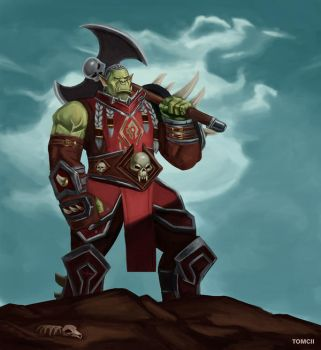 Varok Saurfang by Tom-Cii