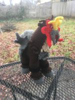 Entei Free Crochet Pattern