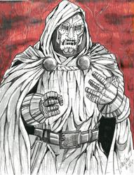 VICTOR VON DOOM by Hey-Abbott