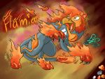StrongPower Character: Flamia by PalosCheco
