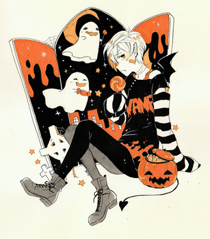 Halloween Boy by Sei00