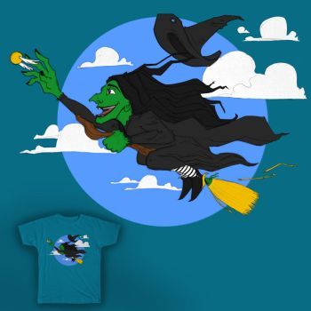 Vote! - Quidditch With of the West - Threadless by Phillippeaux
