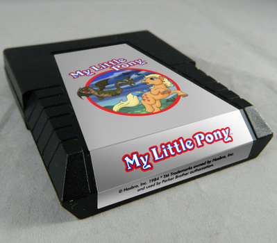 ATARI My Little Pony Game Cartridge. by Atariboy2600