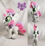 Sweetie Belle Plush by TrashKitten-Plushies