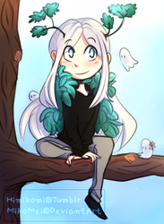 Forest Ghosty!  by MikoMei