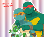 Raph x Mikey! by KameBoxer