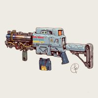 A laser rifle by Fernand0FC