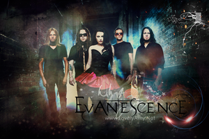 Evanescence poster design 24x36inch by princesiitha