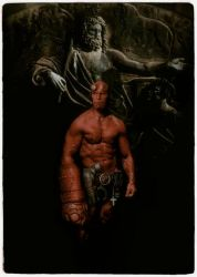 Hellboy Pinup by simonpimpernel