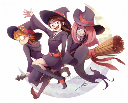 FF: Little Witch Academia by DragginCat