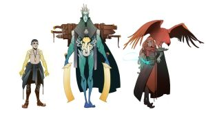 World Building / Days 54-58 : Antagonists 1 by BrotherBaston