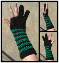 Commission - Custom Tablet-Armwarmers by RebelATS