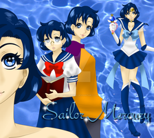Sailor Mercury by Hime-Takamura