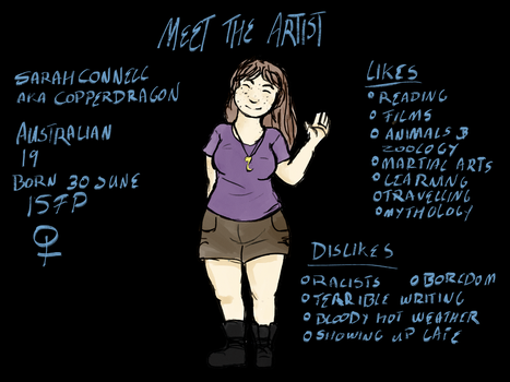 Meet the Artist 2017 by copperdragons