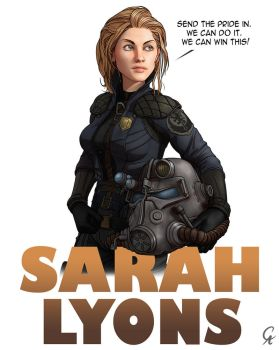 Sarah Lyons - Fallout 3 by CameronAugust