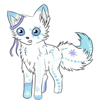 My Name Is Frosty And I'm A Fox by FrXstBite