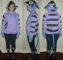 Little Monster Hoodie Costume by skeletonzoo
