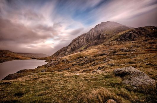Long exposure Tryfan by CharmingPhotography